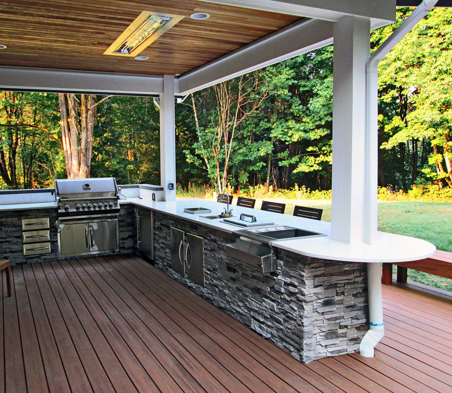 Porch Vs Deck Which Is The More Befitting For Your Home: Gerber Residence Back Patio Remodel