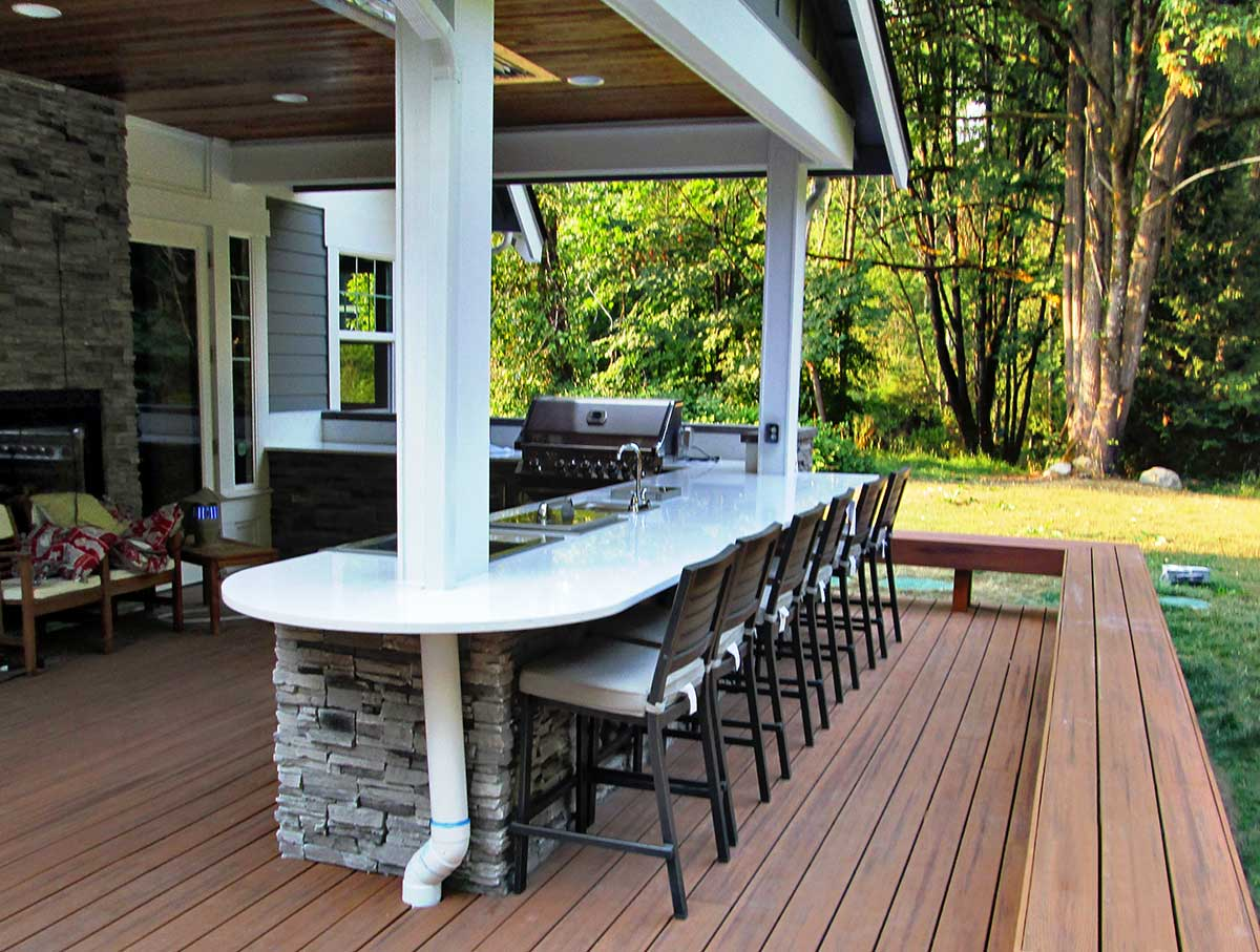 Gerber Residence Back Patio Remodel - Classic Remodeling ... on Backyard Renovations Cost id=59502